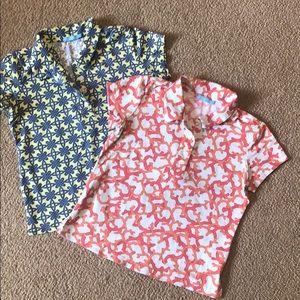 J McLaughlin Girls Tech Golf Shirts
